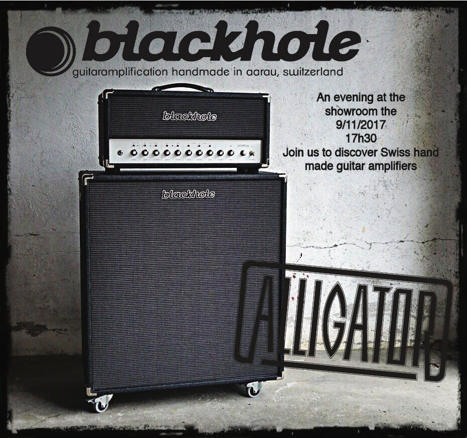 Alligator Amps presents Blackhole amplification evening